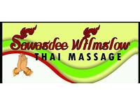 Sawasdee wilmslow thai massage £29