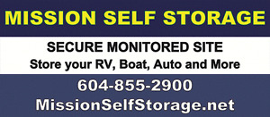 MOTOR HOME, RV, TRAVEL TRAILER AND BOAT STORAGE (MISSION)