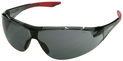 Elvex Avion Safety Glasses With Red Temple Tip And Gray Lens Ansi Z87
