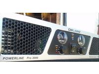 Carlsbro Powerline 2000W Amp