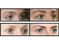 Free tinting with eyebrows threading or waxing