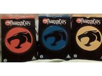 thundercats dvd boxsets season 1 volume 1 and 2 and season 2 volume 1