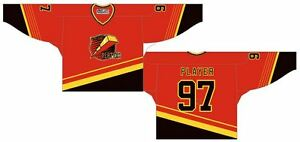 Owen Sound Platers Red Game Worn Jersey Wanted