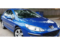 (((DIESEL 1.6 HDI))) PEUGEOT 407 1.6 SE HDI ((( 2007-07 PLATE))) ROAD TAX- £60 A YEAR*MOT-11 MONTHS
