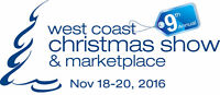 Volunteer Opportunity at the West Coast Christmas Show!