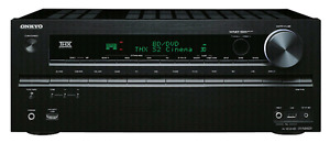Onkyo Receiver, Powered Subwoofer & 5 speakers OBO