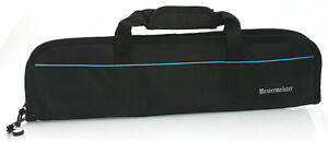 Messermeister 5 Pocket Kitchen Knife Bag Roll Storage - Chef's Knife Case