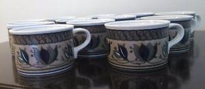 MIKASA INTAGLIO TEA CUPS