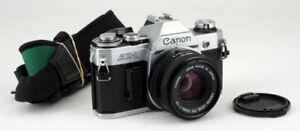 CANON AE1  SLR AVEC CANON FD 50MM 1.8 IMPECCABLE
