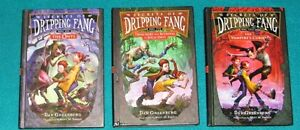 3 Book Set The Secrets of Dripping Fang by Dan Greenburg