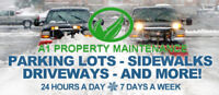 A-1 Property Maintenance -Fully Insured- Commercial Snow Removal