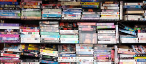 WANTED: VHS Movies, VHS tapes, VHS cassettes, VHS videos