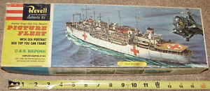 PICTURE FLEET Revell 1/500 Scale USS REPOSE HOSPITAL SHIP