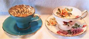Aynsley, Hammersley & Royal Albert Cups & Saucers