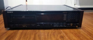 Sony CDP-608ESD CD Player with Remote