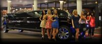 Night out stretch limousine service limo bus rental