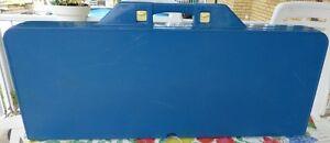 Table de pique-nique pliante bleue comme neuve!!