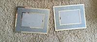 Silver glitter Picture frames