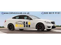 Busy MiniCab Office Cash Based Work