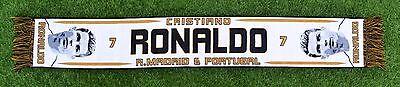 Cristiano Ronaldo Football Madrid & Portugal Scarf Gift Souvenir
