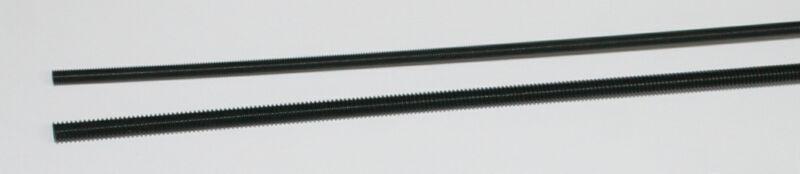 """Nylon Threaded Rod, 8-32 threads, 12"""" Long, White"""