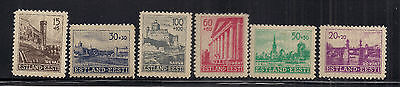 Estonia stamp collection 1941 Germany occupation semi postal mint  hinged