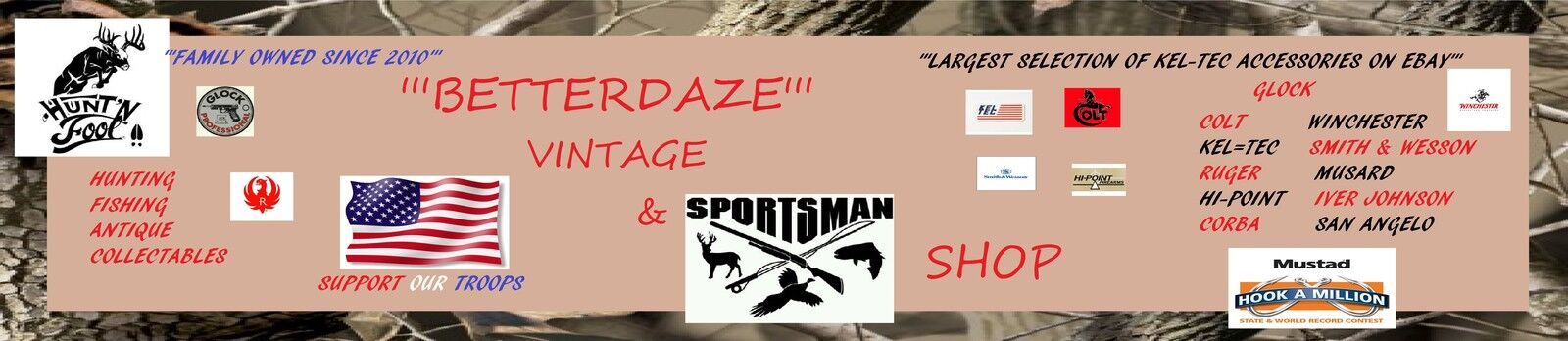 Betterdaze Vintage & Sportsman Shop