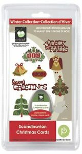 Cricut Scandinavian Christmas Cards Cartridge - $40
