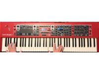 Nord Stage 3 76HP - Mint Condition + custom hard case w wheels