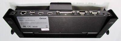 GETAC V100G4 OFFICE DOCKING STATION W/90W PWR VGA/SER/PAR/USB/LAN/MIC/SPK - NEW