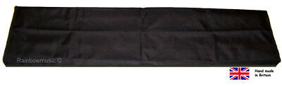 Deluxe Digital Piano Dust Cover For Yamaha CP300 Black Plain