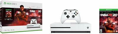 Brand New Xbox One S 1TB NBA2K20 Console Bundle