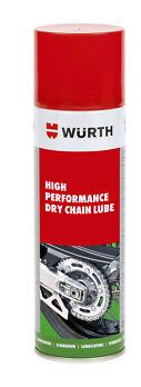 WURTH  DRY CHAIN LUBE HIGH PERFORMANCE 1 X 150 ML NO SPLASH HANDY CAN-FREE POST