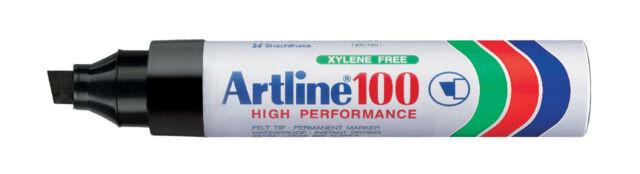 Artline EK100 Giant Markers 7.5 to 12mm - 1x only  BLACK
