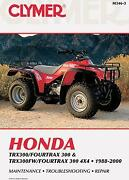 Honda Fourtrax 300 Manual