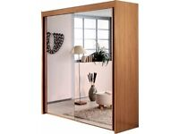 SLIDING DOOR WARDROBE LIMA COMPAKT FREE DELIVERY AND ASSEMBLY