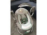 Ingenuity Baby Swing/Seat with music. £30