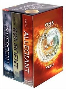 Veronica Roth's DIVERGENT TRILOGY SERIES COMPLETE BOX SET