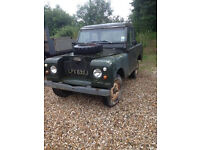 LAND ROVER SERIES 2A, 9000 MILES, BARN FIND, RUNNING!!