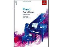 Piano Grade 1 ABRSM books