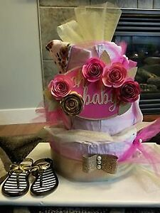 Baby Shower Diaper Cake Easter Special $60