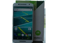 "Unlocked Like New Motorola Moto X Play 16GB 2GB RAM 5.5"" HD 4G Android 6.0 Mobile Phone in White"