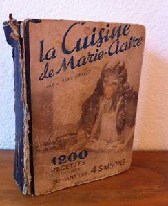 Ancien livre la cuisine de marie claire de 1949 ebay for Ancien livre de cuisine