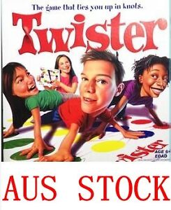 TWISTER  (HOT PARTY GAME) AWESOME NEW DESIGN JUST ARRIVED AUS STOCK FAST DELIVER