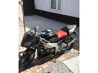 Aprilla rs 125 2006 7000 miles running project