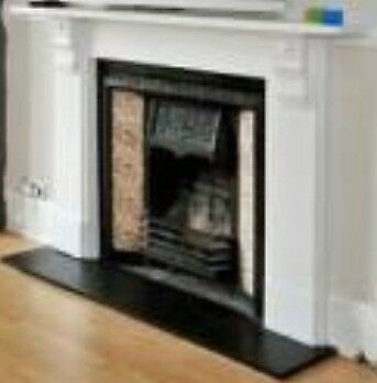 Victorian Fireplace with original hearth and surround and mantle