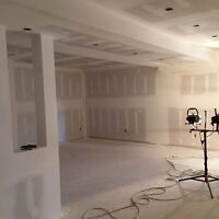Drywall services available. Boarding, filing, taping, insulation