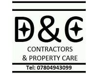 D&C Contractors and property care.