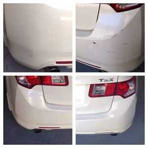 WE FIX AND PAINT BUMPERS AT LOW PRICE