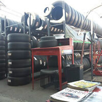 Lowest Price, Highest Quality Used Tires Sale at Tire Trade